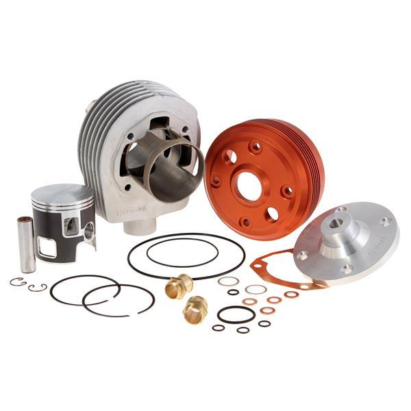 Rennzylinder PARMAKIT TSV10R LC 177 ccm für Vespa 125 GTR 2-TS-150 Sprint 2-V-Super 2-PX125-150-PE-Lusso-Cosa für Vespa 125 GTR 2-TS-150 Sprint 2-V-Super 2-PX125-150-PE-Lusso-Cosa-