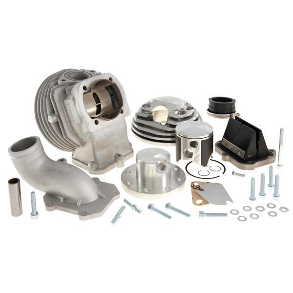 Rennzylinder PARMAKIT W-Force AC 144 ccm für Vespa 50-125-PV-ET3-PK-S-XL-2 für Vespa 50-125-PV-ET3-PK-S-XL-2-