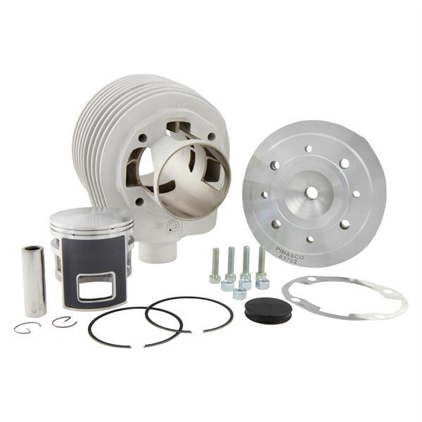 Rennzylinder PINASCO -Magny Cours- Granturismo- 177 ccm für Vespa 125 GTR 2-TS-150 Sprint 2-V-Super 2-PX125-150-PE-Lusso-Cosa für Vespa 125 GTR 2-TS-150 Sprint 2-V-Super 2-PX125-150-PE-Lusso-Cosa-