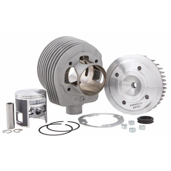 Rennzylinder PINASCO -Magny Cours- Granturismo- 190 ccm für Vespa 125 GTR 2-TS-150 Sprint 2-V-Super 2-PX125-150-PE-Lusso-Cosa für Vespa 125 GTR 2-TS-150 Sprint 2-V-Super 2-PX125-150-PE-Lusso-Cosa-