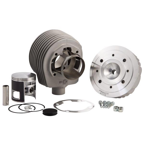 Rennzylinder PINASCO -Vespone RB- 177 ccm für Vespa 125 GTR 2-TS-150 Sprint 2-V-Super 2-PX125-150-PE-Lusso-Cosa für Vespa 125 GTR 2-TS-150 Sprint 2-V-Super 2-PX125-150-PE-Lusso-Cosa-