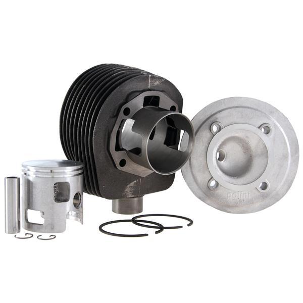 Rennzylinder POLINI W5 177 ccm by W5 für Vespa 125 GTR 2-/TS/150 Sprint 2-/V/Super 2-/PX125-150/PE/Lusso/Cosa für Vespa 125 GTR 2-/TS/150 Sprint 2-/V/Super 2-/PX125-150/PE/Lusso/Cosa-