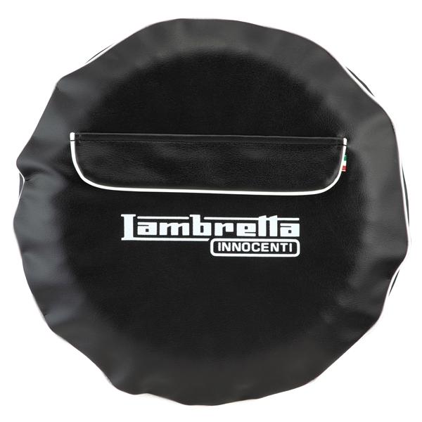 Reserveradabdeckung Lambretta Innocenti für 3-50-10- Reifen  -