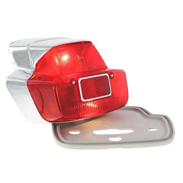 Rücklicht SIEM Antik gross für Vespa 125 VNB6-150 GL-Sprint- 025478-180SS-0018000 für Vespa 125 VNB6-150 GL-Sprint- 025478-180SS-0018000-