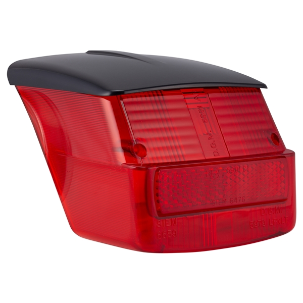 Rücklichtglas SIEM für Vespa 125 GTR-TS-150 SprintV-180-200 Rally- V50 Special (d) für Vespa 125 GTR-TS-150 SprintV-180-200 Rally- V50 Special (d)-