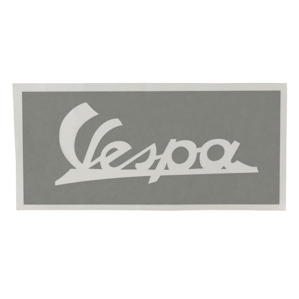 Schablone Schriftzug Vespa Beinschild vorne für Vespa 125 U VU1T für Vespa 125 U VU1T