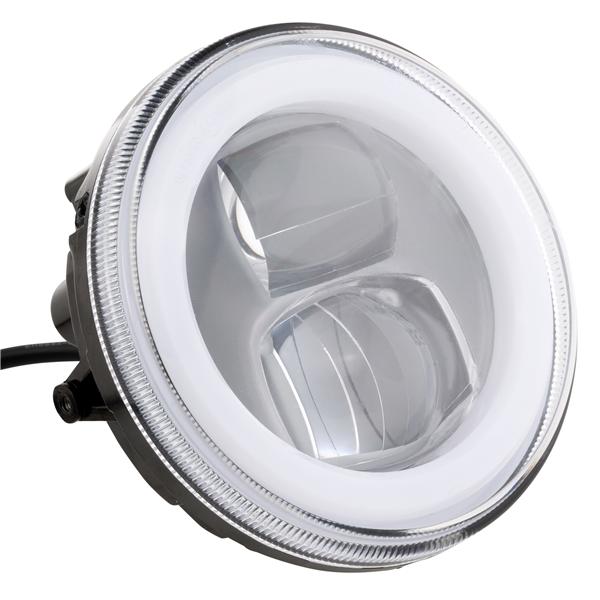 Scheinwerfer LED rund - 120 mm für Vespa 50 SS-90 SS-125 PV-ET3-Super-VNB3-6-150 Super-VBA-VBB-VGLA-B-GS VS5-160 GS-Lambretta für Vespa 50 SS-90 SS-125 PV-ET3-Super-VNB3-6-150 Super-VBA-VBB-VGLA-B-GS VS5-160 GS-Lambretta-