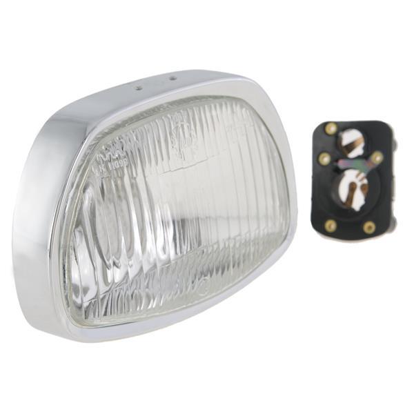 Scheinwerfer SIEM trapezförmig - 95x150 mm für Vespa 125 GT-150 GL-Sprint-180 SS für Vespa 125 GT-150 GL-Sprint-180 SS-