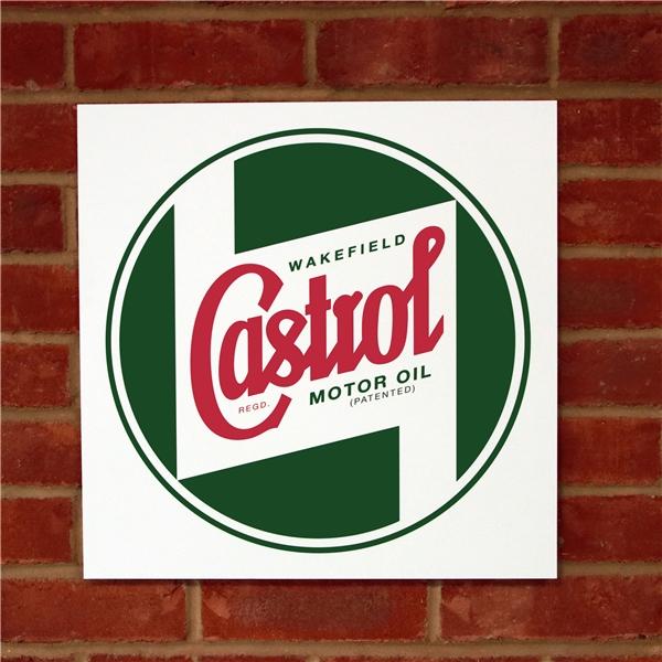 Schild CASTROL CLASSIC Logo