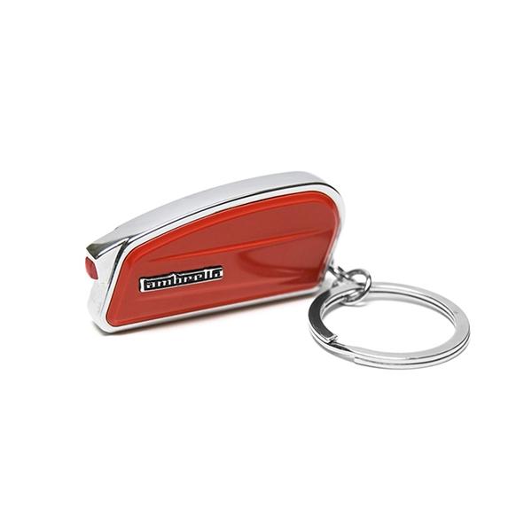Schlüsselanhänger FORME Lambretta -Seitenhaube-  -