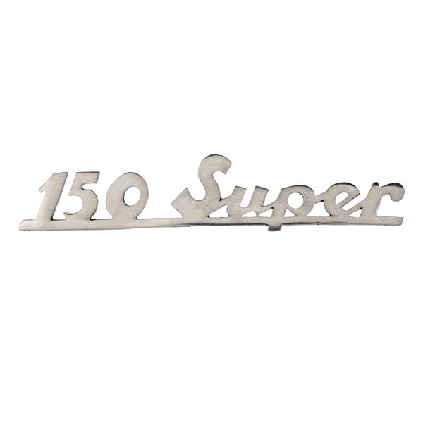 Schriftzug -150 super- Heck hinten für Vespa 150 Super für Vespa 150 Super-