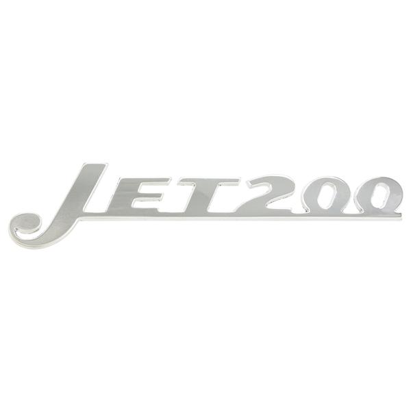 Schriftzug -Jet200- für Lambretta Jet 200 für Lambretta Jet 200-