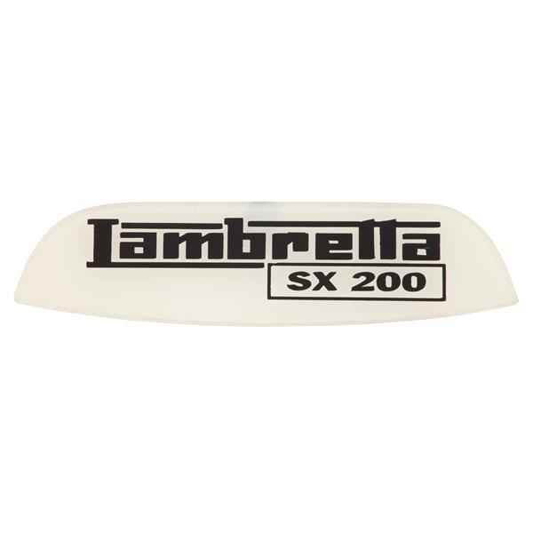 Schriftzug Lambretta SX 200 Heck für Lambretta 200 SX für Lambretta 200 SX-