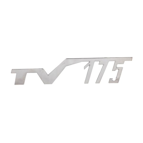 Schriftzug -TV175- für Lambretta TV 175 1-2- für Lambretta TV 175 1-2-