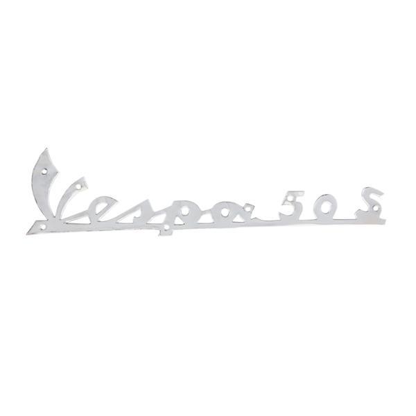 Schriftzug Vespa 50 S Beinschild vorne für Vespa 50 S V5SA1 - 57177 für Vespa 50 S V5SA1 - 57177-