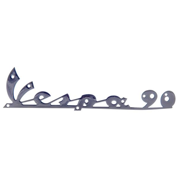 Schriftzug Vespa 90 Beinschild vorne für Vespa 90 V9A1T für Vespa 90 V9A1T-