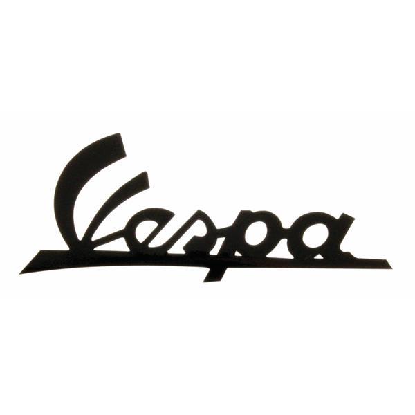 Schriftzug -Vespa- Beinschild vorne für Vespa 125 T2 VNB4T 135618 -VNB5-VNB6T -3349 für Vespa 125 T2 VNB4T 135618 -VNB5-VNB6T -3349-