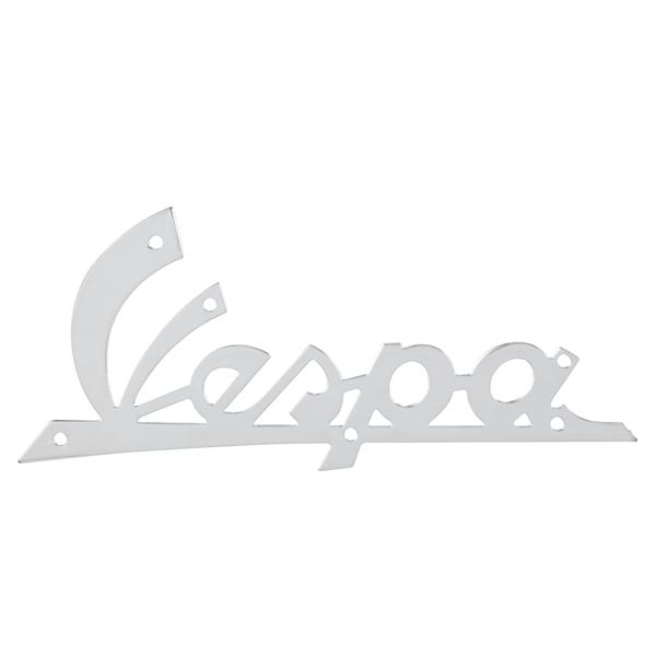 Schriftzug -Vespa- Beinschild vorne für Vespa 125 VNB1-3-VNB4T -135617 ausländischer Markt für Vespa 125 VNB1-3-VNB4T -135617 ausländischer Markt-