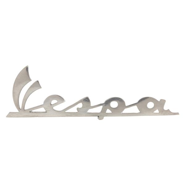 Schriftzug -Vespa- Beinschild vorne für Vespa 50 SS-90 SS für Vespa 50 SS-90 SS-