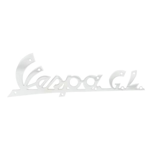 Schriftzug -Vespa GL- Beinschild vorne für Vespa 150 ACMA GL für Vespa 150 ACMA GL-