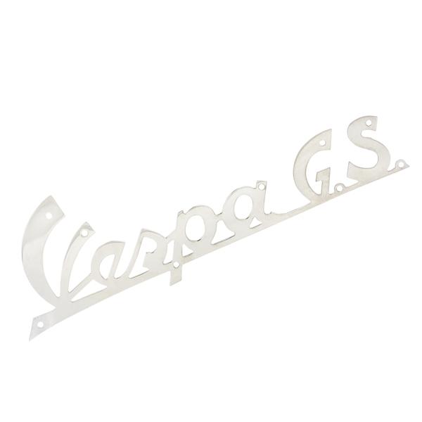 Schriftzug -Vespa GS- Beinschild vorne für Vespa 150 GS VS1-5T (e) - Exportmodelle für Vespa 150 GS VS1-5T (e) - Exportmodelle-