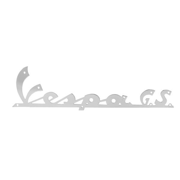 Schriftzug -Vespa GS- Beinschild vorne für Vespa 160 GS für Vespa 160 GS-