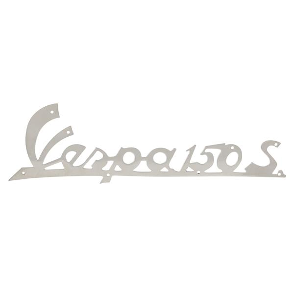 Schriftzug -Vespa150S- Beinschild vorne für MotoVespa 150S für MotoVespa 150S-