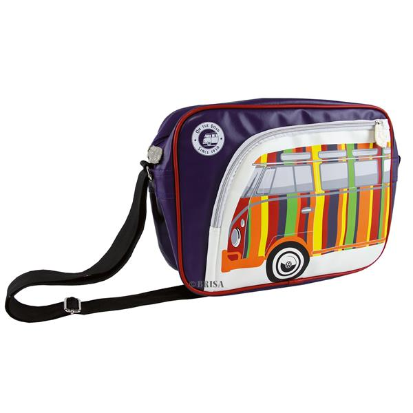 Schultertasche VW Collection VW Bulli T1 -Stripes-  -