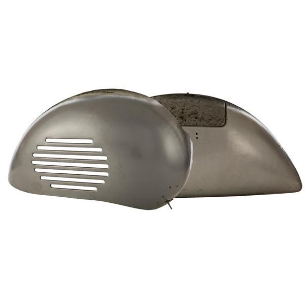 Seitenhauben Motorseite und  Gepäckfachseite- rechts und links für Vespa 125 VM-VN für Vespa 125 VM-VN-