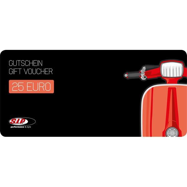 SIP Gutschein -Smallframe- über 25-00 EUR  -