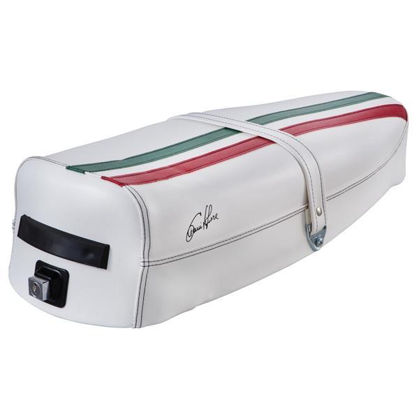 Sitzbank -Tricolore Italy Mezzo- für Vespa P80-150X-PX80-200E-Lusso 1-P150S-P200E für Vespa P80-150X-PX80-200E-Lusso 1-P150S-P200E-