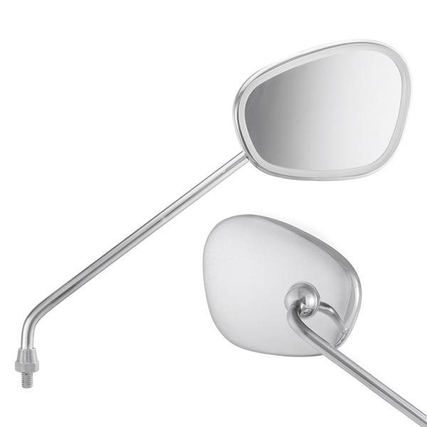 Standard Spiegel zur Montage am Lenkerunterteil rechts für Vespa alle Modelle Klassik für Vespa alle Modelle Klassik-