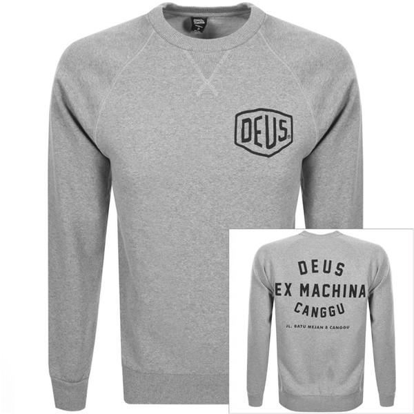 Sweatshirt DEUS Canggu Address Crew Grösse: S für Männer für Männer-