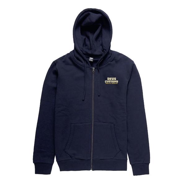 Sweatshirt-Zipper DEUS Automatica Zip Hoodie Grösse: S für Männer für Männer-