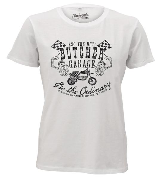T-Shirt SIP by BUTCHER -ESC VESPA CUSTOM- Grösse: M für Männer für Männer-
