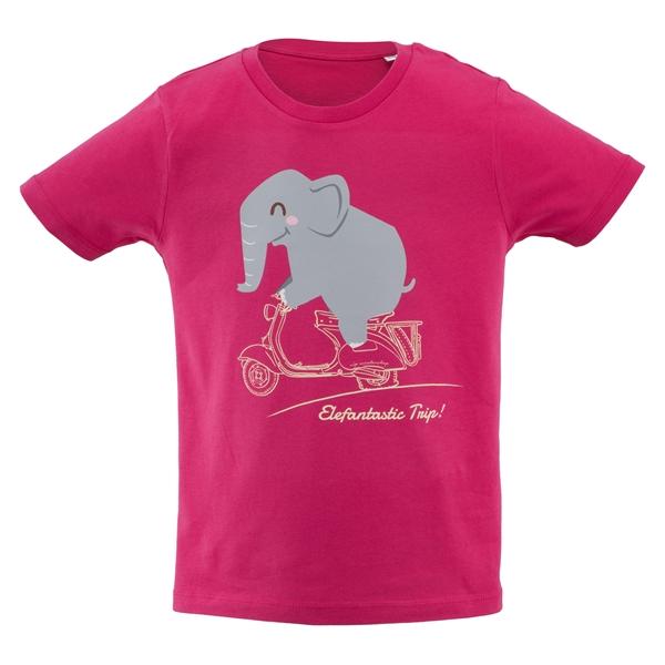 T-Shirt SIP Elefantastic Trip! Grösse: 122-128 für Kids für Kids-