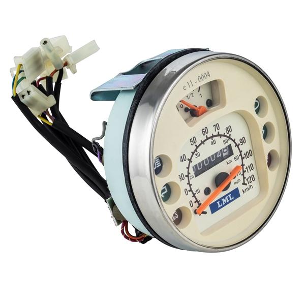 Tachometer LML für LML Star 125 4T Automatica- Deluxe- II 125 CVT für LML Star 125 4T Automatica- Deluxe- II 125 CVT-