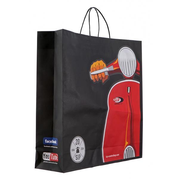 Tüte SIP Milano mit Motiv Vespa Motorroller  -