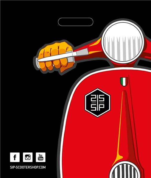 Tüte SIP mit Motiv Vespa Motorroller  -