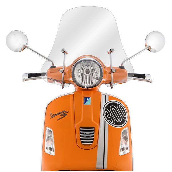 Windschild ERMAX Sportivo für Vespa GTS-GTS Super-GT-GT L 125-300ccm für Vespa GTS-GTS Super-GT-GT L 125-300ccm-