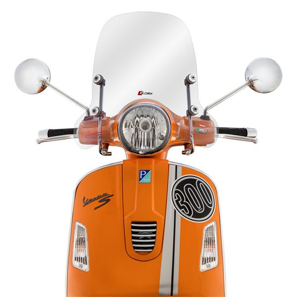 Windschild FACO für Vespa GTS-GTS Super-GT-GT L 125-300ccm für Vespa GTS-GTS Super-GT-GT L 125-300ccm-