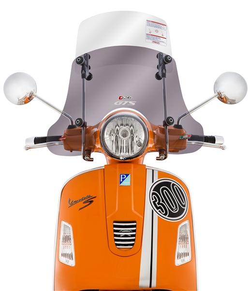 Windschild FACO -Twin-Screen- für Vespa GTS-GTS Super-GT-GT L 125-300ccm für Vespa GTS-GTS Super-GT-GT L 125-300ccm-