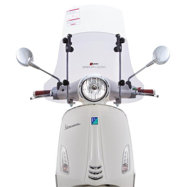 Windschild FACO -Twin-Screen- für Vespa Primavera 50-150ccm 2T-4T für Vespa Primavera 50-150ccm 2T-4T-
