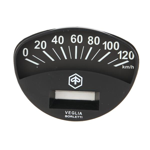 Ziffernblatt PIAGGIO Tachometer für Vespa 125 ET3-GTR-TS-150 Sprint V-Rally für Vespa 125 ET3-GTR-TS-150 Sprint V-Rally-