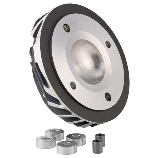 Zylinderkopf CasaPerformance Blackline Radiale 225 ccm für Lambretta 200 TV-SX-DL-GP für Lambretta 200 TV-SX-DL-GP-